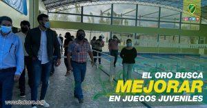 EL ORO BUSCA MEJORAR EN JUEGOS JUVENILES