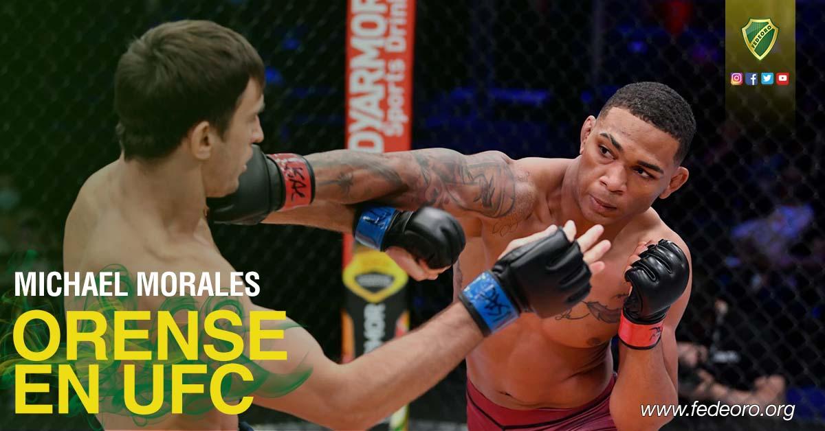 ORENSES TIENEN PELEADOR EN LA UFC