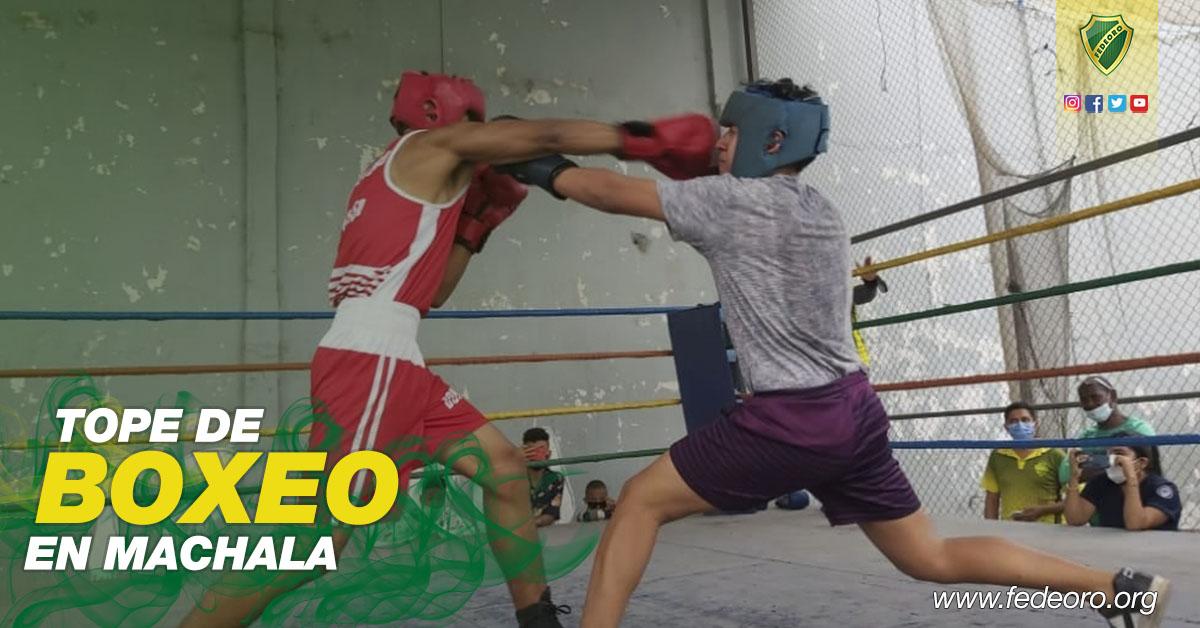 TOPE DE BOXEO EN MACHALA, GIMNASIA Y ATLETISMO COMPITEN FUERA