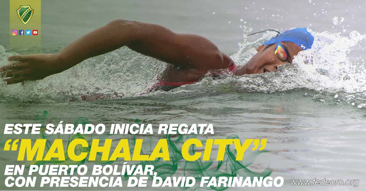 ESTE SÁBADO INICIA REGATA MACHALA CITY EN PUERTO BOLÍVAR