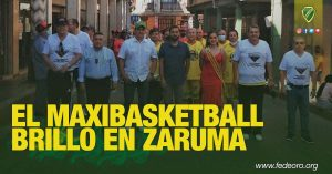 EL MAXIBASKETBALL BRILLÓ EN ZARUMA