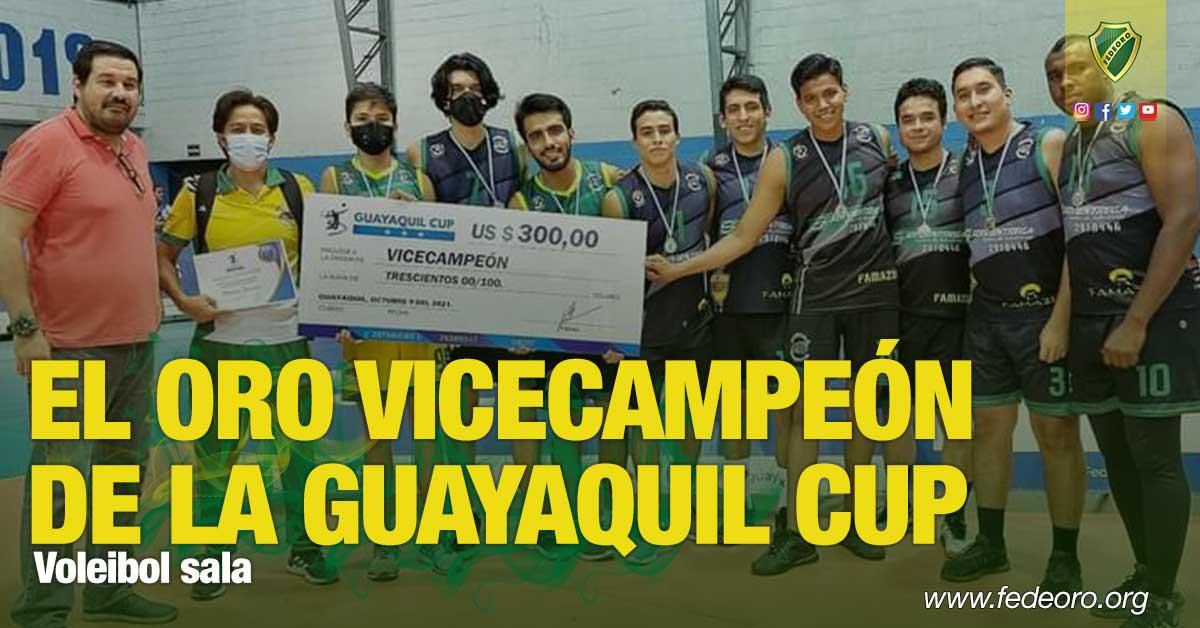 Voleibol sala EL ORO VICECAMPEÓN DE LA GUAYAQUIL CUP